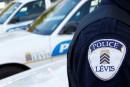 Policiers de Lévis: du camouflage pour se faire entendre