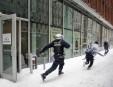 Une manifestation a dégénéré aujourd'hui au centre-ville de Montréal près... | 9 février 2013