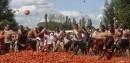 Bagarre de tomates (ou «tomatina») à Quillon, au Chili.... | 21 février 2013