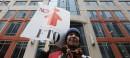 Une centaine de travailleurs ont manifesté dans les rues d'Ottawa... | 23 février 2013