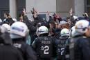 Manif contre la brutalité policière: des prévenus comparaissent