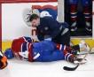 Alexei Emelin se tord de douleur après une solide mise... | 6 avril 2013