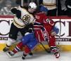Jaromir Jagr (68) plaque au sol les joueurs du Canadien... | 6 avril 2013