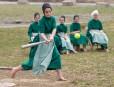 Partie de baseball dans la communauté amish de Bergholz en... | 12 avril 2013