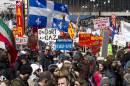 20 000 personnes marchent pour le Jour de la Terre