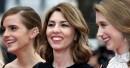 Emma Watson, Sofia Coppola, réalisatrice, et Taissa Farmiga sont venues... | 16 mai 2013