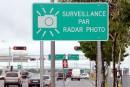 Les nouveaux radars photo pas encore activés à Québec