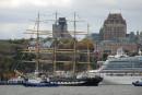 Des grands voiliers à Québec en 2014