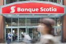 Le profit de la Banque Scotia glisse au troisième trimestre