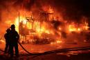 Incendie à L'Isle-Verte