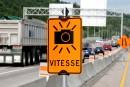 Radars photo mobiles sur l'autoroute 40