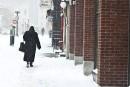La première tempête laisse près de 15 cm de neige