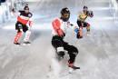 Le Crashed Ice à Québec en novembre