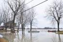 Inondations: des signes encourageants, selon Coiteux