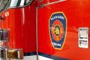 Manif contre la loi 3: Québec et ses pompiers devant la CRT