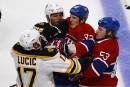 La série Canadien-Bruins sera lancée jeudi