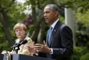 Obama et Merkel menacent Moscou de nouvelles sanctions
