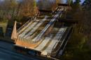 Travaux urgents avant le<em> lifting</em> au Centre d'entraînement Yves-Laroche