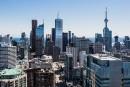 Les gratte-ciel continuent de s'ajouter au centre-ville de Toronto....   5 mai 2014