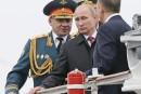 Poutine célèbre le Jour de la Victoire en Crimée