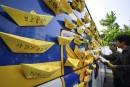 Naufrage: les parents des étudiants sud-coréens manifestent