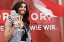 Des Russes en colère après la victoire d'un travesti à l'Eurovision