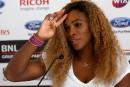 Serena Williams ne sait pas si elle jouera à Rome