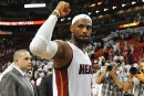 LeBron James rencontrera le Heat cette semaine