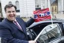Hockey: Coderre veut parier avec le maire de New York