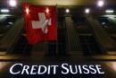 Évasion fiscale: Credit Suisse paiera 2,6 milliards aux É.-U.