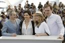 Cannes: Juliette Binoche dans les Alpes suisses