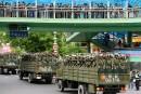 Vaste démonstration de force des autorités chinoisesau Xinjiang
