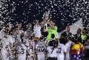 Les supporteurs du Real Madrid acclament leurs «héros»