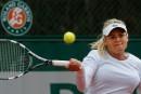 Aleksandra Wozniak: «J'étais à un point de gagner»