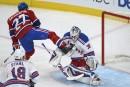 Rangers 4 - Canadien 7: notre clavardage