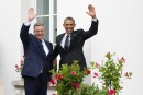 Obama va rencontrer à Varsovie le président élu ukrainien