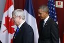 Harper et Obama s'opposent aux rencontres du G7 avec Poutine