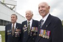Trois vétérans qui n'ont pas oublié
