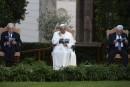 Le pape François, Peres et Abbas prient pour la paix