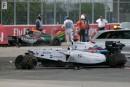 Massa et Perez ont fait le spectacle... jusqu'au bout!