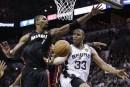 Le Heat craint les Spurs en vue du 3e match