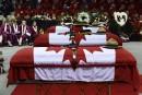 Moncton: funérailles émouvantes pour les trois policiers de la GRC