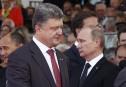 Les présidents Poutine et Porochenko à Minsk le 26 août