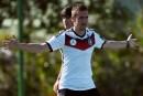 Les Allemands calmeset en confiance