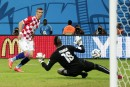 La Croatie écrase le Cameroun, éliminé du tournoi