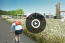 Promenade portuaire du Foulon: deux kilomètres de vélo et de verdure