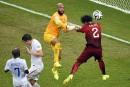 Le Portugal esquive <em>in extremis</em>l'élimination, match nul contre les É.-U.