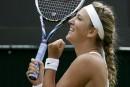 Wimbledon: première victoire depuis janvier pour Azarenka