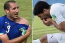La morsure de Luis Suarez fait le bonheur de 167 parieurs