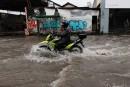 Pluies torrentielles et rues inondées à Recife